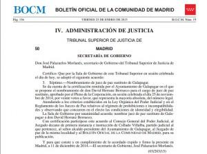David Herranz Berrueco nombrado Juez de Paz sustituto de Galapagar