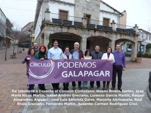 Consejo Ciudadano de Podemos Galapagar