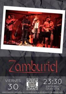 Marboré vibrará este viernes con el eclecticismo musical del grupo Zamburiel