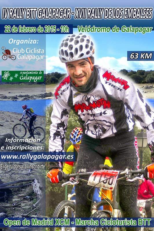 Ciclismo: El IV Rally BTT de Galapagar arrancará el 22 de febrero