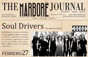 Viernes 27: Las voces de los Soul Drivers desbordarán Marboré a ritmo de soul, gospel y rock