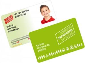 Ya disponible la Tarjeta Infantil de Transporte Público para niños de 4, 5 y 6 años