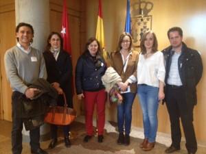 Movilidad: UPyD lleva a vecinos de Parquelagos a la Asamblea de Madrid