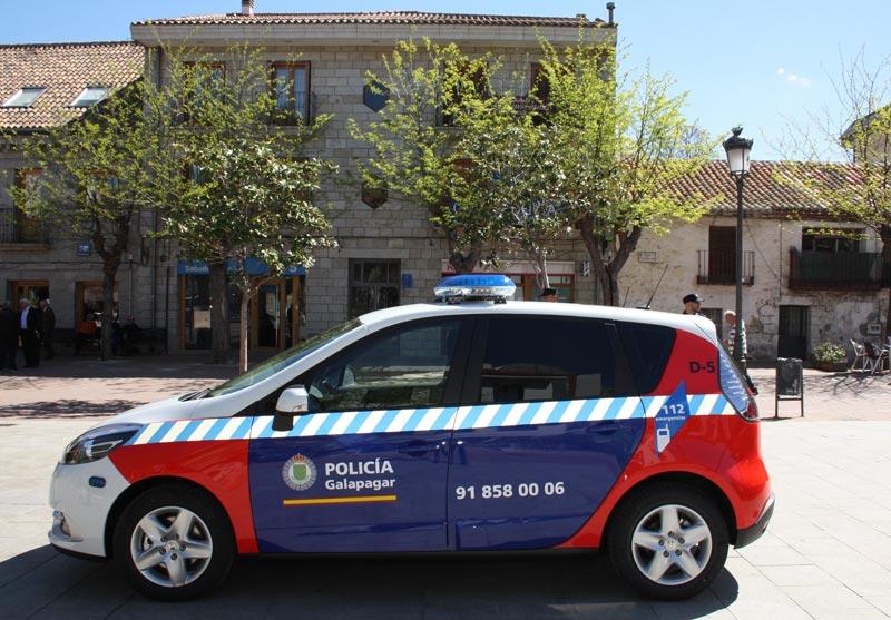 Galapagar refuerza la flota de su Policía Local con tres nuevos vehículos