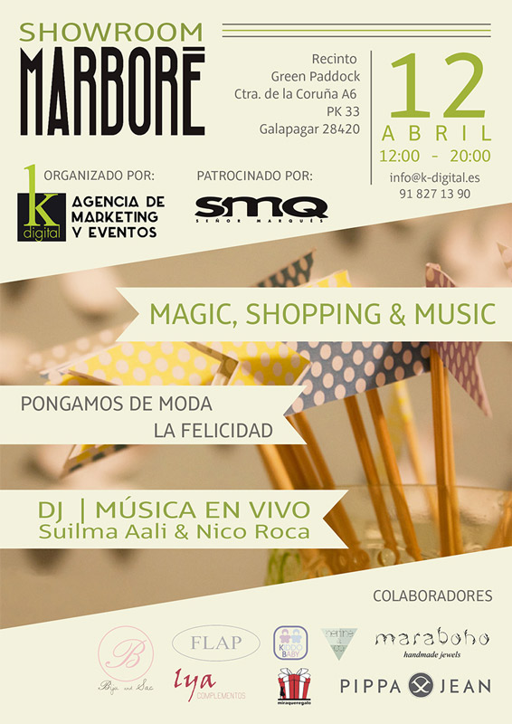 "Un día de shopping, música y diversión familiar en el ""Pop Up Store"" de Marboré"