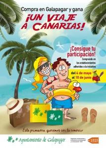 Se sorteará un viaje a Canarias para promover las compras en los comercios de Galapagar