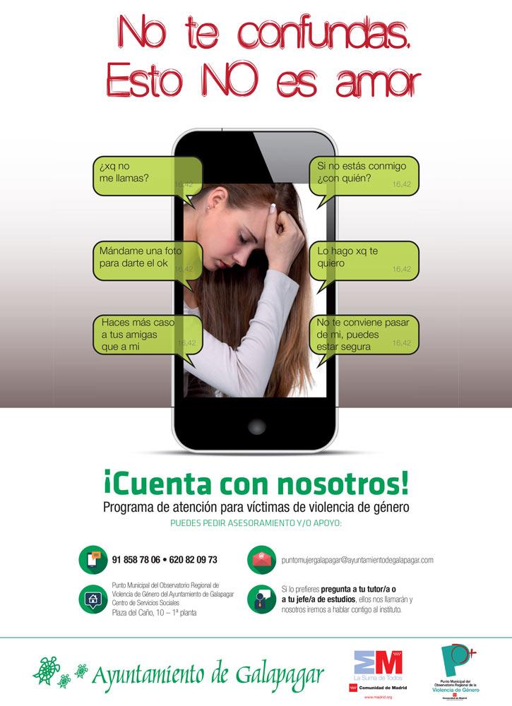 Galapagar lanza campaña para concienciar a los jóvenes sobre violencia de género