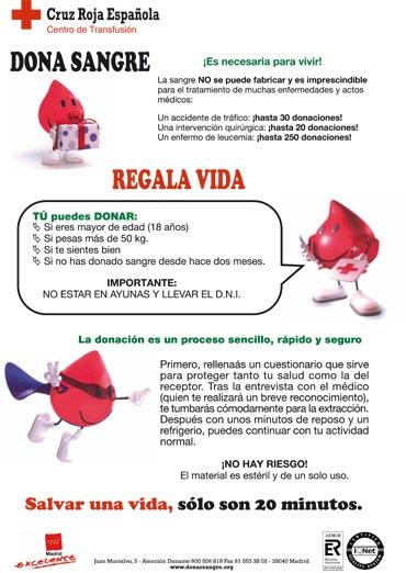 El viernes y sábado, se podrá donar sangre en la Plaza de la Constitución de Galapagar