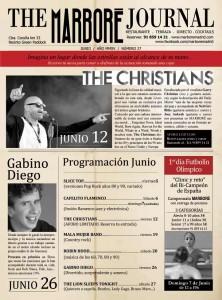 """Junio en Marboré: Legendarios """"The Christians"""", Gabino Diego y hasta un campeonato de futbolín"""
