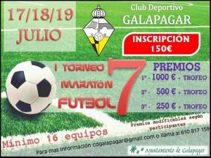 Galapagar: Abierta la inscripción para el I Torneo Maratón de Fútbol 7