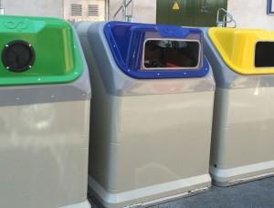 Nuevos contenedores para basura de Galapagar