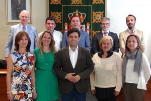 El alcalde de Galapagar presentó el equipo y la nueva estructura de su gobierno