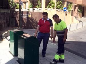 Finaliza en Galapagar la tercera fase de soterramiento de contenedores