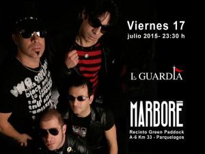Mítica banda La Guardia, plato fuerte de este viernes 17 en Marboré