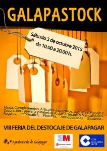 Galapastock 2015: La VIII Feria del Destockaje de Galapagar será el 3 de octubre
