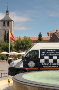 Galapagar es ya uno de los municipios más seguros de la Comunidad de Madrid