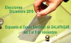 Los vecinos de Galapagar pueden comprobar su inscripción en el Censo Electoral para Diciembre 2015