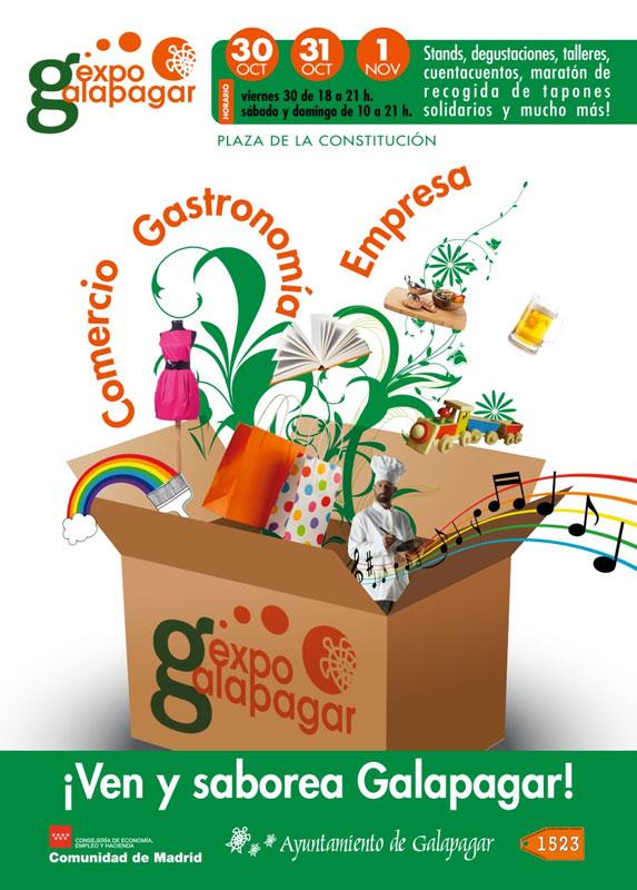 """Expogalapagar: Tres días para """"saborear Galapagar"""" en la feria del comercio y la empresa"""