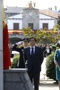 Galapagar prepara su tradicional homenaje a la Bandera Española