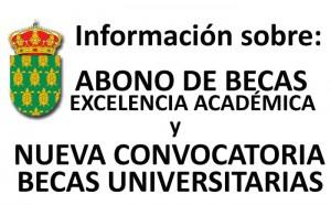 Abono de becas excelencia académica y becas universitarias en Galapagar