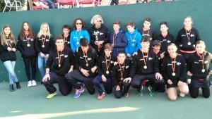 El Club Élite Tenis de Galapagar es el nuevo campeón de la Liga Juvenil de Madrid