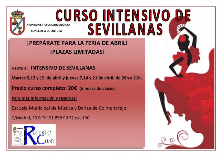 Curso  Intensivo de Sevillanas en Colmenarejo