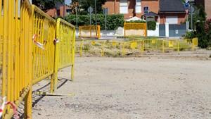 Obras del nuevo parque infantil