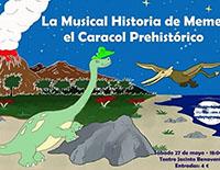 Galapagar acoge el Musical de Meme, el caracol prehistórico