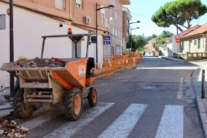 Remodelación calles de Galapagar