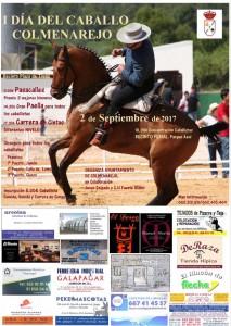 Cartel I Feria del Caballo de Colmenarejo