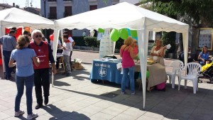 Stands en la Feria del Voluntariado de Galapagar 2017