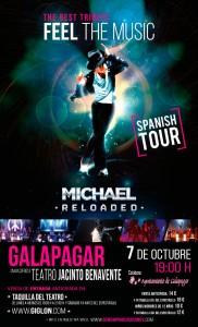 cartel concierto Michael Reloaded-Galapagar
