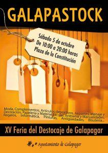 Los comercios de Galapagar se pueden inscribir para la XV Feria del Destocaje hasta el 27 de septiembre