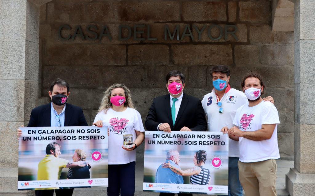 """Campaña """"En Galapagar no sois un número, sois respeto"""" de la Asociación Tu Fuerza es Nuestra Fuerza, con el fin de recaudar dinero para el acondicionamiento de la sala de espera de procedimientos  diagnósticos y terapéuticos a pacientes infantiles del Hospital Puerta de Hierro."""